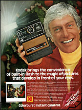 1978 Dick Van Dyke Kodak Colorburst Instant Camera vintage photo print ad ads5