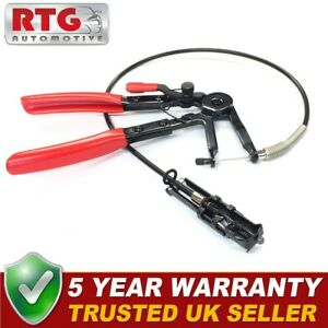 Professional Hose Clamp Remover Pliers Flexible Long Reach Remote Action 19-55mm