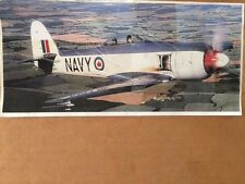 "BRAND NEW SEA FURY  Wing Span Vailly Aviation Model Aircraft Kit 90"" ( 2286mm )"