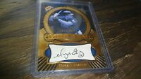 2004 U.D. ETCHED IN TIME MORGAN ENSBERG #46/1325   AUTOGRAPHED BASEBALL CARD