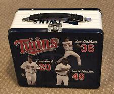 Mlb Minnesota Twins Baseball Lunch Box - Joe Nathan, Lew Ford, Torii Hunter