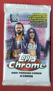 2021 Topps Chrome WWE # Refractor Auto/Variation/SuperFactor/Red/Black/Orange?