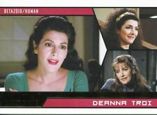 Star Trek Aliens Gold Parallel Base Card # 93 Deanna Troi