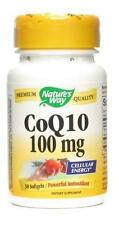 Nature's Way, CoQ10,  Powerful Antioxidant, Cellular Energy, 100 mg, 30 Softgels