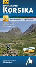 KORSIKA Fernwanderwege Wandern Michael Müller Wanderführer 13D Reiseführer NEU