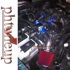 BLUE RED 1995-1997 Ford Ranger XL XLT Mazda B2300 SE 2.3 2.3L AIR INTAKE KIT
