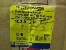 SQUARE D SCHNEIDER FHL26000M4200 Molded Case Switch
