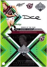 2012 SELECT NRL DYNASTY SIGNATURE REDEMPTION: DALY CHERRY-EVANS #71/100 MANLY
