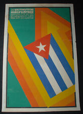 "1980 Original Cuban Movie Poster""Westdeutsche Kurzfiltage""German Cinema Festival"