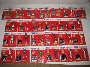 Basketball '95 Starting Lineup 25 figs Hill,Starks,Pippen,Bogues,Robinson,Malone