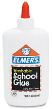 For School Elmers Washable Glue White 7.6 oz Squeeze Bottle 288 Bottles, EPI 308