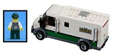LEGO Train City Bank Armoured Van Truck Lorry & Security Guard Minifigure 60198