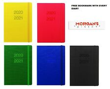 Bookmark  5 Colours Letts 2021 Diary Principal A6 Week to View