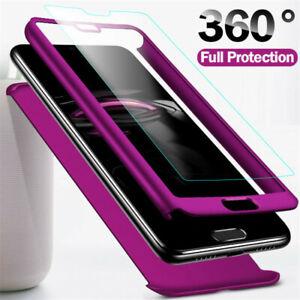 360 Grad Hülle Huawei P30 Pro Lite P20 Lite Pro Full Cover  Handy Schutz Case
