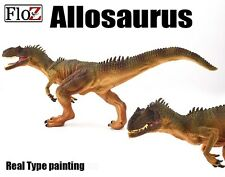 Dinosaurs Allosaurus Figure real type prehistoric model toy FloZ Collectible