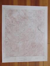 Globe Arizona 1955 Original Vintage Usgs Topo Map