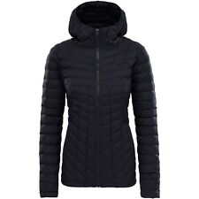 3b120c2ed4 The North Face Women s Small Thermoball Hoodie Jacket Puffer Black T93brjxym