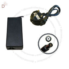 AC Laptop Adapter For HP 463554-001 4.74A SMART KG298AA + 3 PIN Power Cord UKDC