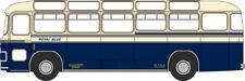 Oxford Moulé sous Pression - 1/76 - Bristol Mw6g Bus - Bleu Roi