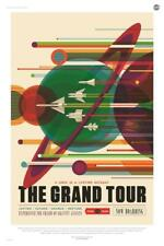 """The Grand Tour A Once in a Lifetime Getaway Space Poster 13x20"""" 24x36"""" 32x48"""""""