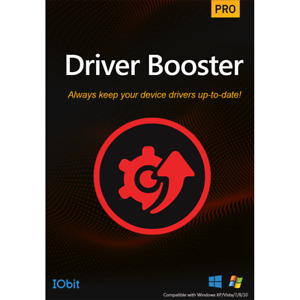 IOBit Driver Booster 8 PRO Genuine Retail Key 1 Year 1/3 Devices Fast Shipping
