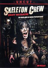 Skeleton Crew , Snuff Massacre , uncut , english & german , new and sealed