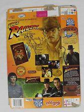 John Williams Indiana Jones Signed Autograph Frosted Mini Wheats Box RARE COA