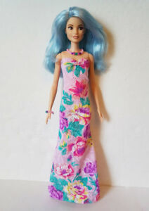 Fits TALL Body BARBIE Clothes BOUQUET GOWN and JEWELRY HM Fashion NO DOLL d4e