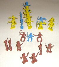 23 MPC Plastic Toy Cowboys & Indians