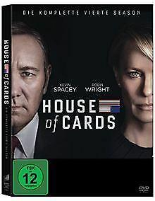 House of Cards - Die komplette vierte Season (4 Discs)   DVD   Zustand gut