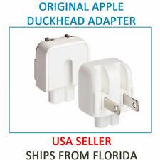 Original Apple Macbook Magsafe Pro Air Power Adapter Wall Plug Duck Head for USA