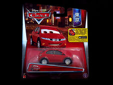 Disney Pixar Cars Haiki Mattel Die-cast 2016, Red Honda Civic Hatchback Japanese