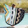 India Bohemian Mandala Beach Wall Tapestry Hippie Throw Yoga Mat Towel Bedspread