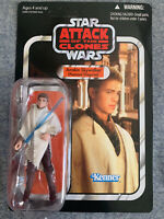 STAR WARS AOTC Anakin Skywalker VC32 Vintage Collection C9+ Unpunched MOC