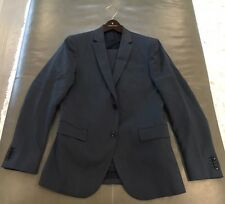 Theory Mens XYLO NP Marlo Behler Blue 100% Wool Suit 38R 34x33 $795