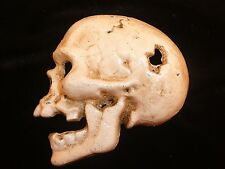 Heavy cast iron Skull bottle opener~Hand held~Paper weight~Bar~Mancave~Beer~New