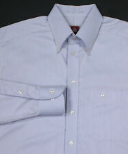 ETON Solid Light Blue Cotton Dress Shirt (40) 15 3/4