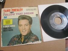 ELVIS PRESLEY in FOLLOW THAT DREAM EP Picture Sleeve EP RCA EPA-4368 45 PS