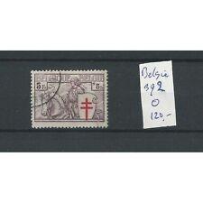 Belgie  392 Tuberculose 1934   VFU/gebr  CV 120 €