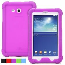 Poetic TURTLE Skin Rugged Silicone Rubber Case for Samsung Galaxy Tab 3 Lite 7.0