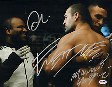 SHOGUN RUA FABRICIO WERDUM CORDEIRO SIGNED AUTO'D 11X14 PHOTO PSA/DNA UFC