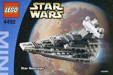 Star Wars LEGO Mini Set STAR DESTROYER New  # 4492 Factory Sealed