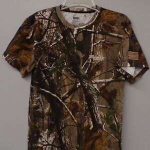 Sig Sauer Mens USA Flag Russell Outdoors™ - Realtree® Explorer Camo T-Shirt S-3X
