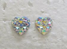 Children-White-Heart-Sparkle-Hypoallergenic-Stud-Earrings