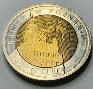 Poland 2015 POZNAN  5 Zlote coin UNC!!!NO RESERVE!! !!!! !!(R3A3)
