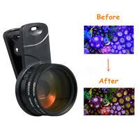 Aquarium Fish Tank Coral Reef Phone Camera Filters Lens w/Macro Lens Take  D1