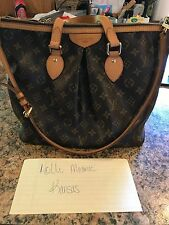 LOUIS VUITTON PALERMO PM Monogram Shoulder Handbag Authentic! EUC! US Seller!