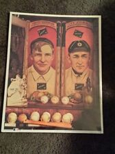 No. 11 Christy And TY MLB Legends Poster Collectible Memorabilia Mathewson Cobb