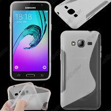 Housse Etui Coque Silicone S-line Transparent Samsung Galaxy J3 2016 SM-J320F