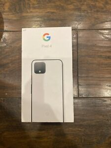 Google Pixel 4 64GB Verizon  Only Clearly White Single Sim